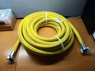GRAINGER APPROVED Air Hose Assembly,1 in.,50 ft.,Yellow, 20759549
