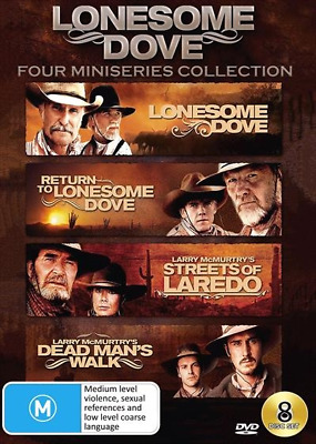 Lonesome Dove | Collection :Four Mini-Series (DVD) (2018) (Region 4) New Release