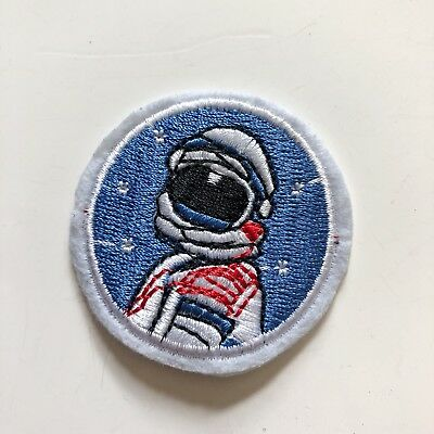 Astronaut Kid Costume NASA Uniform Sew Iron On Embroidered Patch Applique