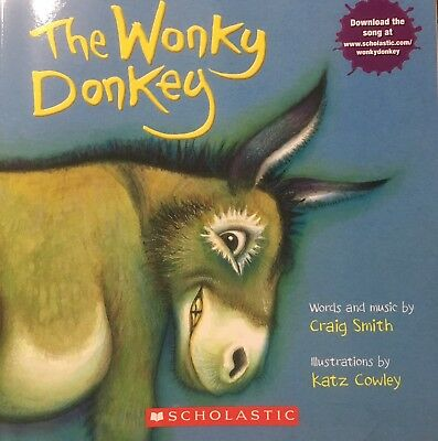 The Wonky Donkey by Craig Smith Paperback Children Book FREE SHIPPING!  In Hand!