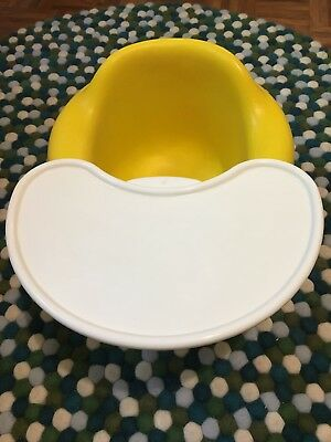 Bumbo Seat With Tray Yellow