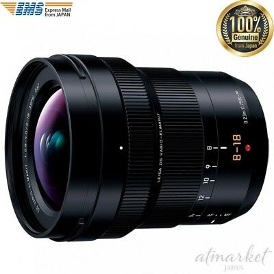 Panasonic ultra wide angle zoom lens H-E08018 DG VARIO-ELMARIT 8-18mm F2.8-4.0