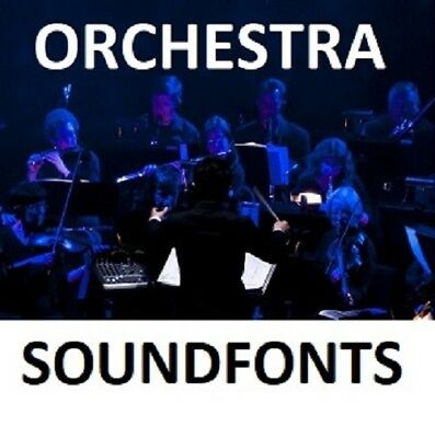 ORCHESTRA SOUNDFONTS TRAP  sf2 Brass Horns Orchestral Strings FL Studio  Reason