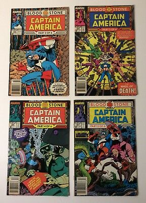 Captain America #358, #359, #360 And #361 4 Book Lot