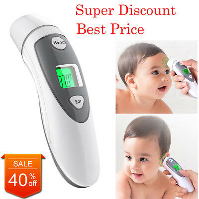 Medical Ear Thermometer Forehead Function FDA Approved Upgrad Infrared For Kids