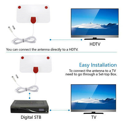 1080P HD Skylink Digital Indoor HDTV 4K Antena 200 Mile Range Antenna TV Digital