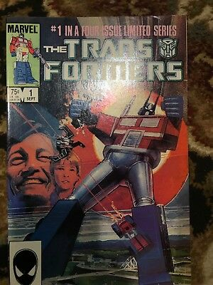 Transformers #1  1st Print  1984 ACTUAL PICS LOWERED STARTING BID No reserve