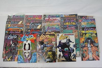 38 DC LOBO Comics Lot