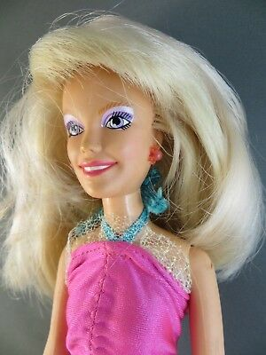 1980's Hasbro Flash'n Sizzle JEM of the Holograms Original Outfit Doll 4003 #119