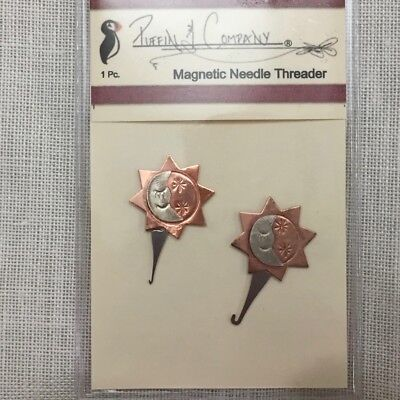 Puffin & Co. stitching Threaders regular & Micro beading magnetic suns xstitc