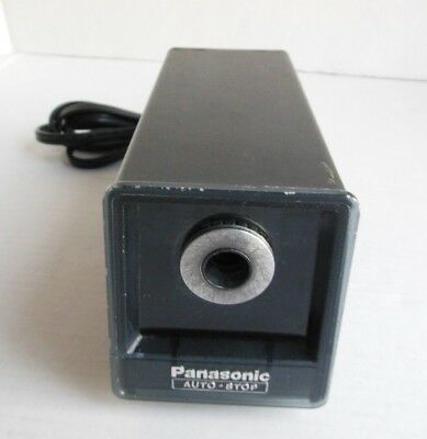 Vintage Panasonic KP-77 Auto Stop Electric Power Pencil Sharpener Japan A-7