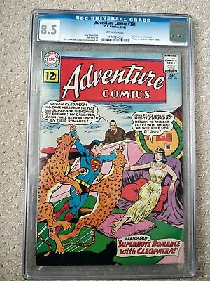 ADVENTURE COMICS # 291  CGC 8.5  1961  SUPERMAN 'Tales of the Bizarro World'