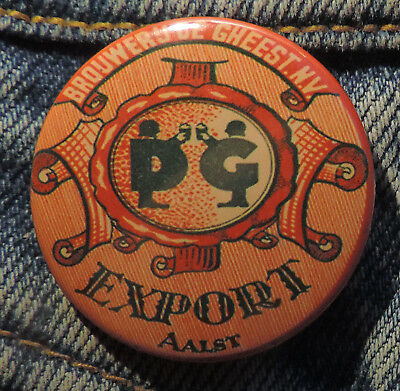 Pin Button Badge Ø38mm ( Ancienne bière - Bier - Beer ) ALOST #6