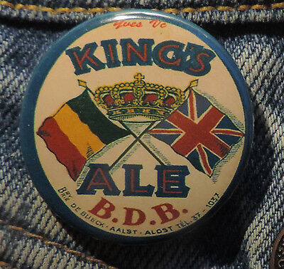 Pin Button Badge Ø38mm ( Ancienne bière - Bier - Beer ) ALOST #15