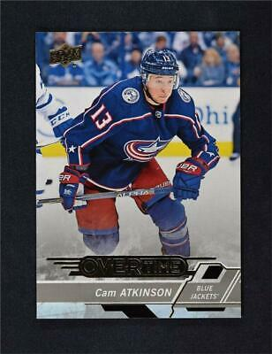 2018-19 Upper Deck UD Series 1 Overtime Base #40 Cam Atkinson