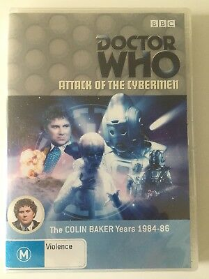DR WHO - Attack Of The Cybermen (DVD), New & Sealed.