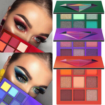 9 Colors Eyeshadow Palette Beauty Makeup Shimmer Matte Eye Shadow Cosmetic Hot