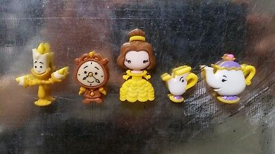 Disney Beauty And The Beast Magnets