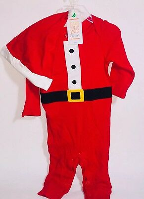 8bc034e7c Baby Boys Sleep Play Santa Suit 2pc Outfit Hat Just One You by Carters 6  mths