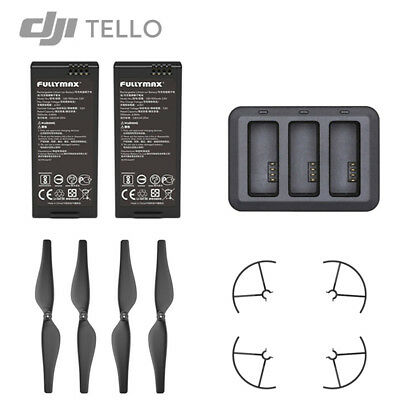 DJI RYZE TELLO Remote Controller Battery Charger USB Charging Hub Props Guard