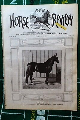 Mar. 2nd 1910 Horse Review Magazine ALLIEWOOD 2:091/2 Vol. 41 No. 9