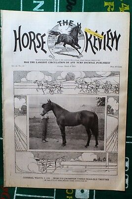 Mar. 9th 1910 Horse Review Magazine GENERAL WATTS 2:06 Vol. 41 No. 9