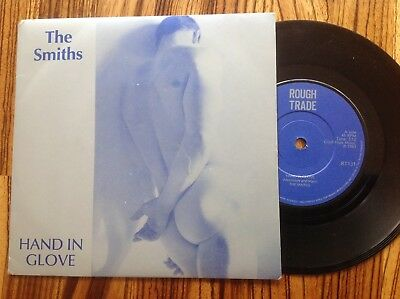 """THE SMITHS – Hand In Glove - Orig UK '83 (Manchester Address) Rough Trade 7"""" NM"""