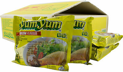 !ASIA-IN DEAL! 2 Kartons Yum Yum Huhn Nudel Suppe 60x60g 3,6kg Chicken