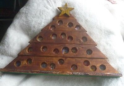Wooden Advent Calendar Christmas Tree. Ideal for Schools/Nurseries or carehomes.