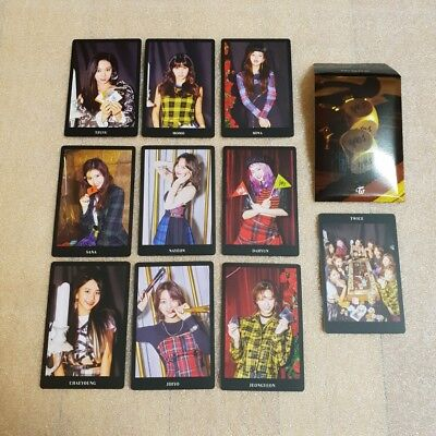 TWICE YES or YES 6th Mini Album Preorder Photocard A Ver. Select Option
