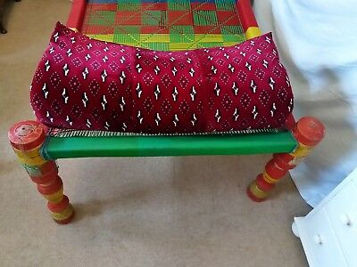 Charpoy/Daybed /Indian style wooden outdoor bed - Collect only