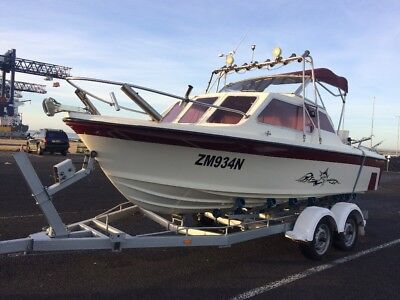 19ft Caribbean Runabout Boat