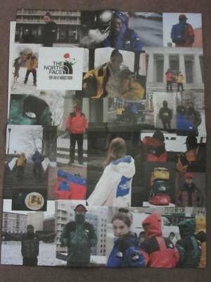 """The North Face TNF x Olivia Kim Pop-In@Nordstrom Poster 30""""x26"""""""