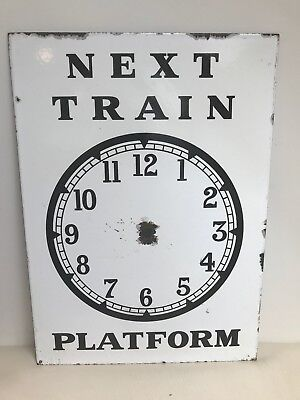Authentic Victorian Railway Sign