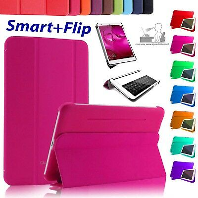 """SLIM Flip Smart For Samsung Tab S2 9.7"""", E 9.6"""" 4/A6 10.1"""" Inch Stand Case Cover"""