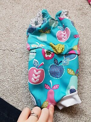 Splash About Happy Nappy Swimming Costume Size Small