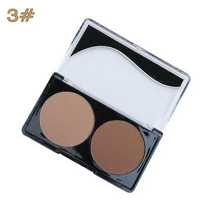 Nose Shade Matte Blusher Pressed Powder Non Shiny Shadow Contour Highlight 3# GA