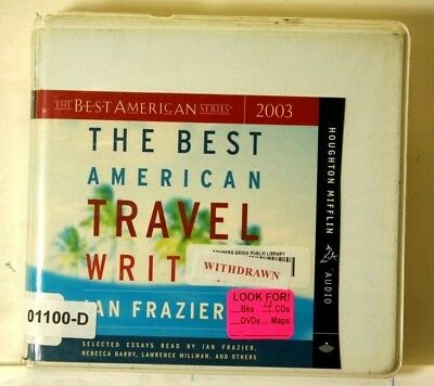 AUDIO BOOK on CDs THE BEST AMERICAN TRAVEL WRITING Collection Short Stories