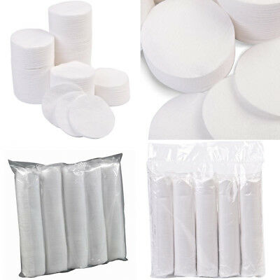 Cosmetic Lint Free Cotton Wool Pads Face Nails - Choose Your Own Quantity!!!!