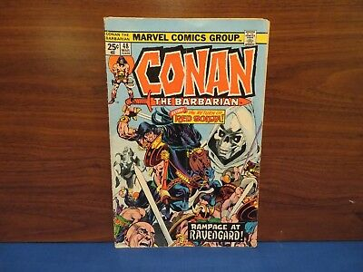 Conan the Barbarian #48 (1974) Return of Red Sonja Marvel Comics