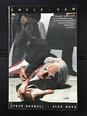 Uncle Sam by Ross, Alex Paperback Book Graphic Novel Comic