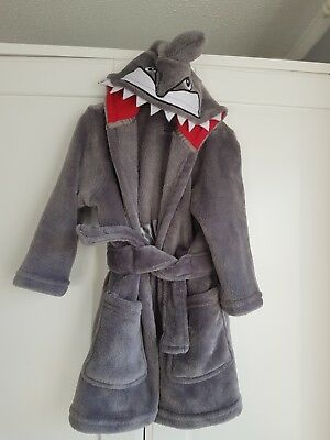 Shark dressing gown 18-24 Months