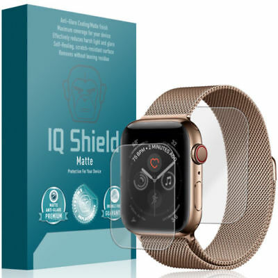 IQ Shield Matte Clear Screen Protector for Apple iWatch Series 1/2/3 42mm, 6pk