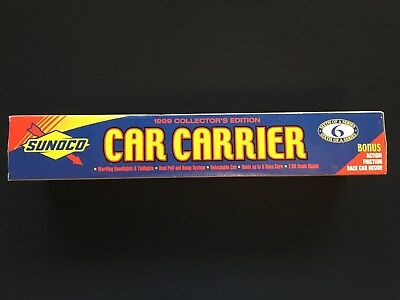 Sunoco Car Carrier Truck - 1999 Collector's Edition - 6th in a Series.