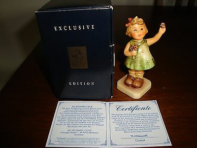 NEW HUMMEL Goebel 'Forever Yours' #014 Hum 793 MIHC Exclusive Ed Figurine