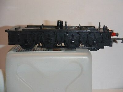 Vintage Triang Hornby Flying Scotsman Tender Chassis And Wheels.
