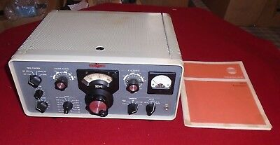 Vintage Collins 32S-3 HAM/Amateur Radio Transmitter SN-13571 with Manual & Box