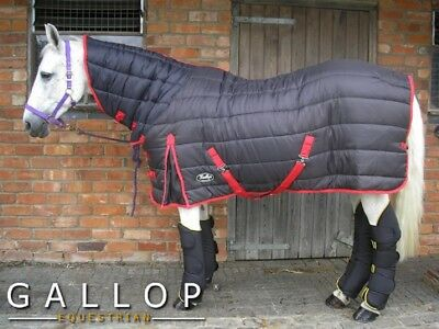 Gallop Maverick Combo Full Neck Indoor Stable Quilted Horse Rug Heavy 300g Fill