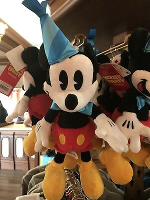 Disney Mickey Mouse World's Biggest Mouse Party Plush 90th Soft Toy Disneyland