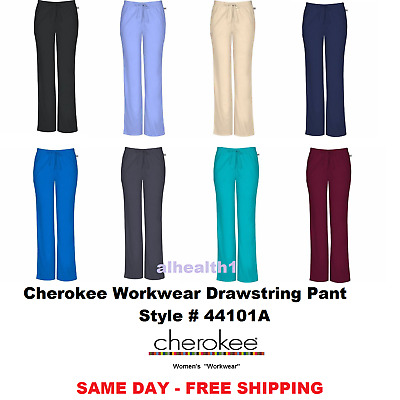 Cherokee Workwear 44101 Pant Scrub Nurse ~NEW~FREE SAME DAY SHIPPING
